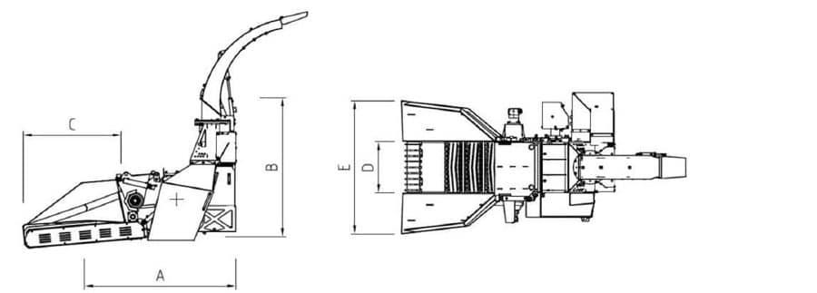 Astilladora móvil Bruks 806.2