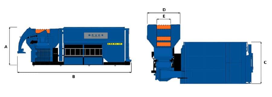Astilladora móvil Bruks 806.2 STC