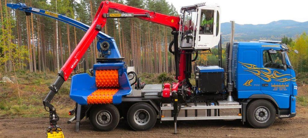 Astilladora móvil Bruks 806.2 PT Truck