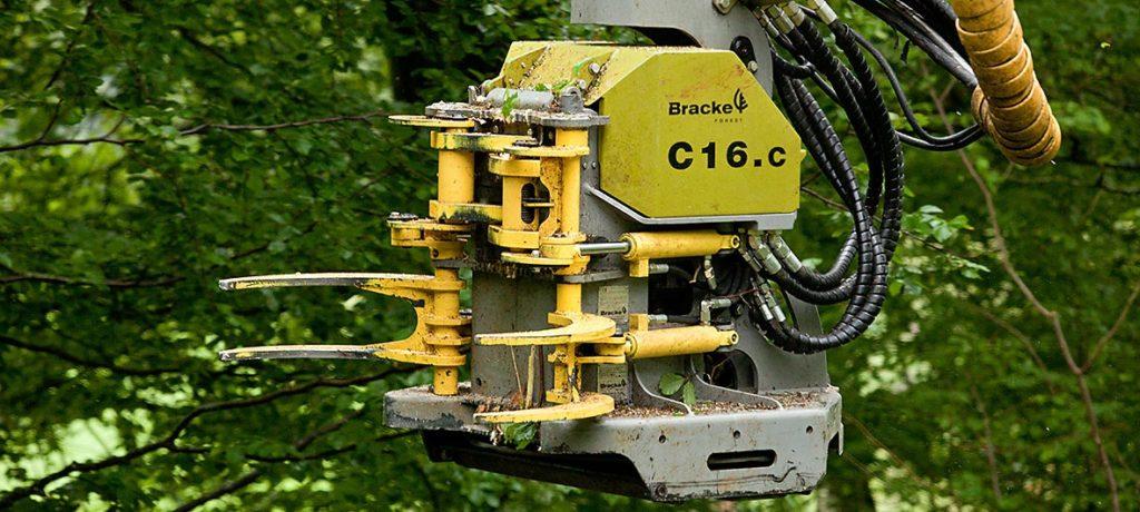 Cabezal acumulador Bracke C16.c