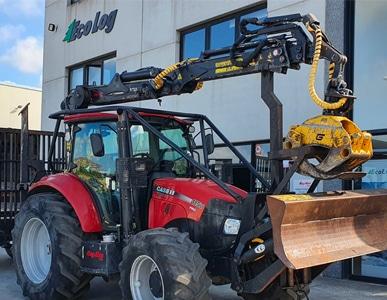 Tractor CASE IH Farmall 115 U Pro